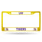 LSU YELLOW COLORED CHROME FRAME