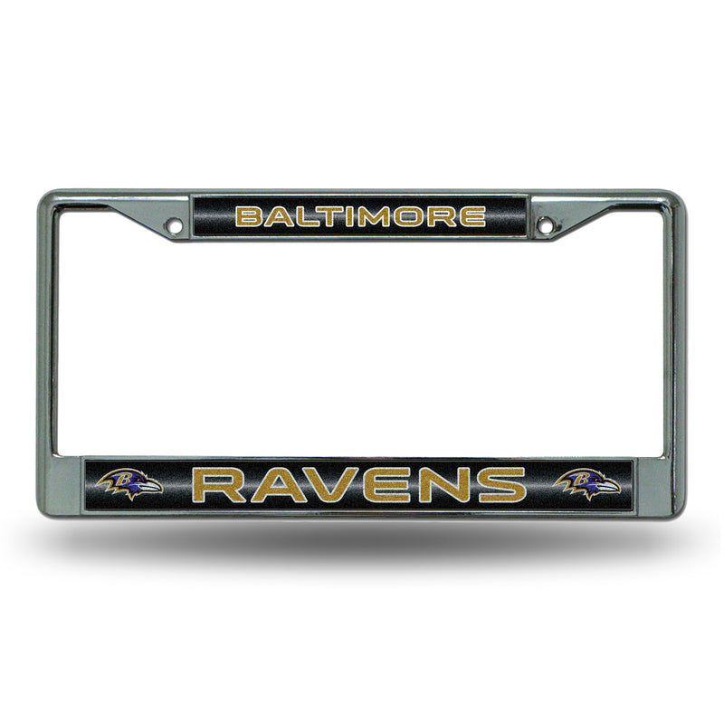 RAVENS BLING CHROME FRAME