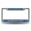 DODGERS BLING CHROME FRAME