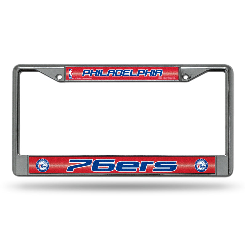76ERS BLING CHROME FRAME