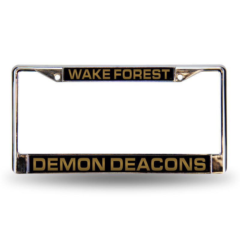 WAKE FOREST BLK LASER CHROME FRAME