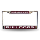 MISSISSIPPI ST RED LASER CHROME FRAME