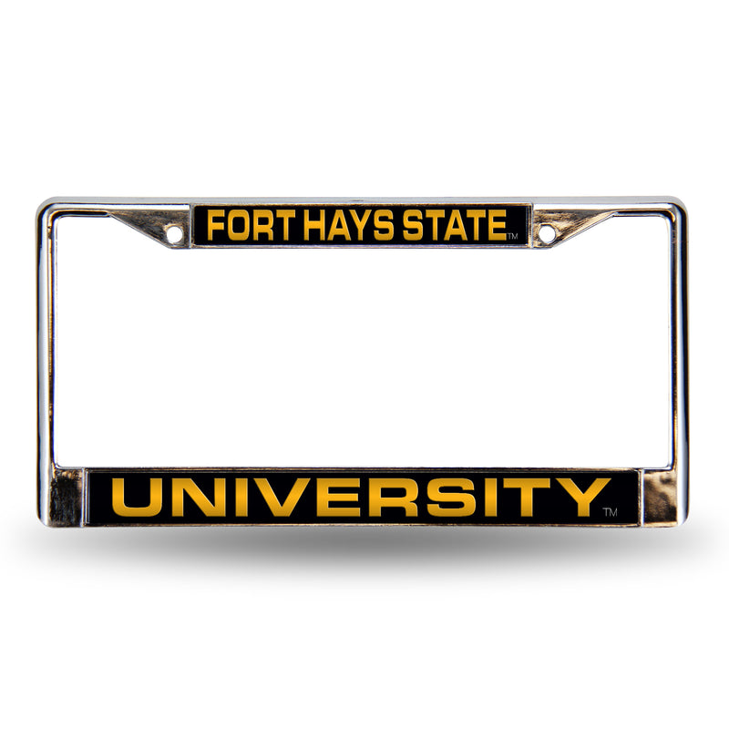 FORT HAYS STATE LASER CHROME FRAME