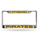 PIRATES YELLOW LASER CHROME FRAMES