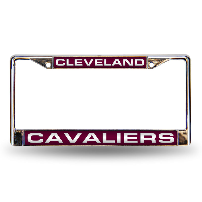 CLEVELAND CAVALIERS RED LASER CHROME FRAME