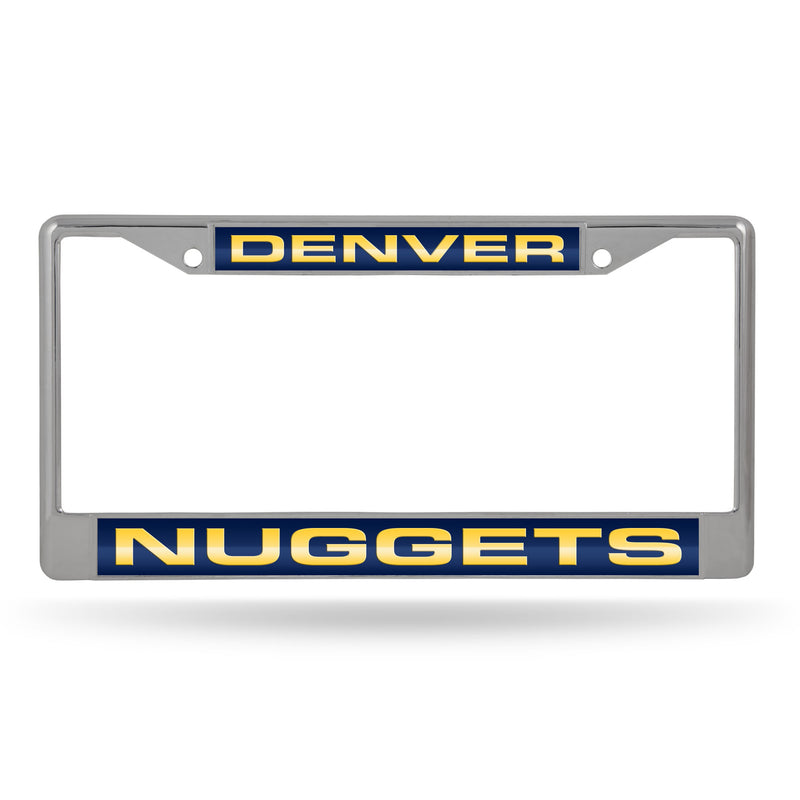 NUGGETS NAVY/GOLD LASER CHROME FRAME