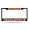 FLORIDA STATE BLACK LASER CHROME FRAME