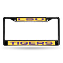 LOUISIANA STATE BLACK LASER CHROME FRAME