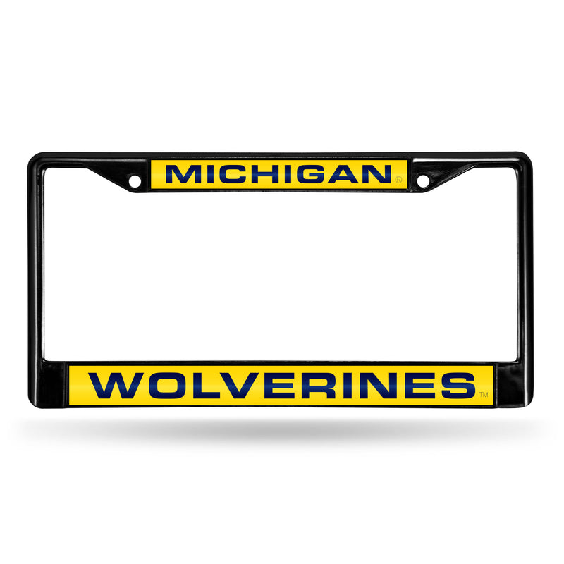 MICHIGAN BLACK LASER CHROME FRAME