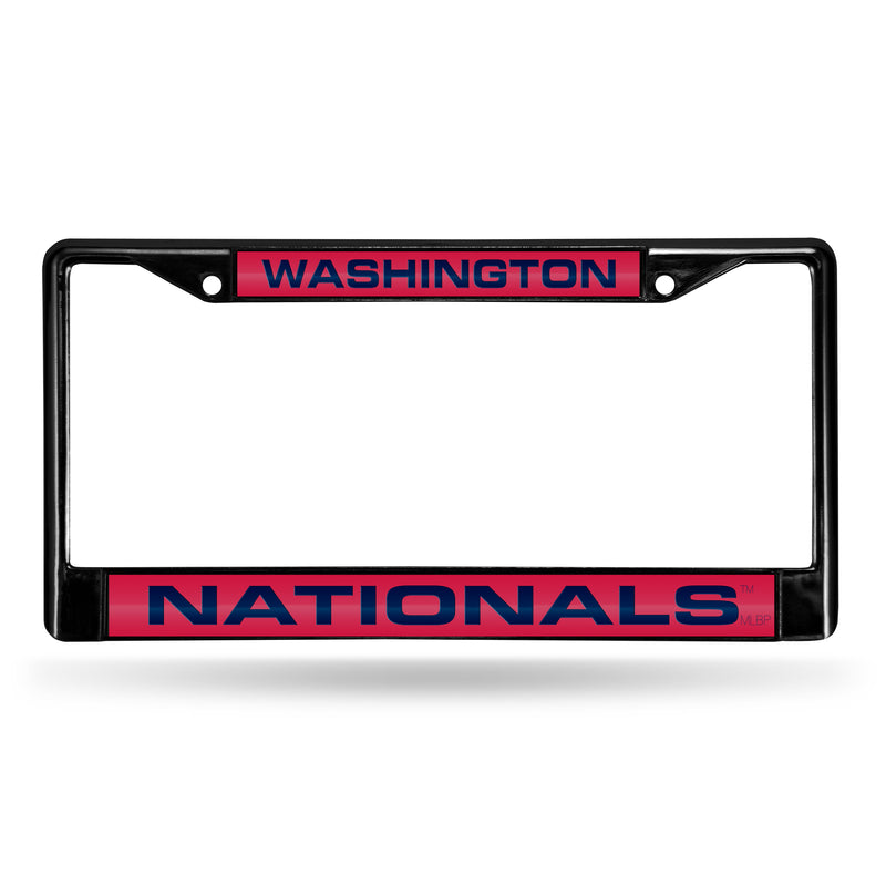 WASHINGTON NATIONALS BLACK LASER CHROME FRAME