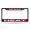 MIAMI HEAT BLACK LASER CHROME FRAME