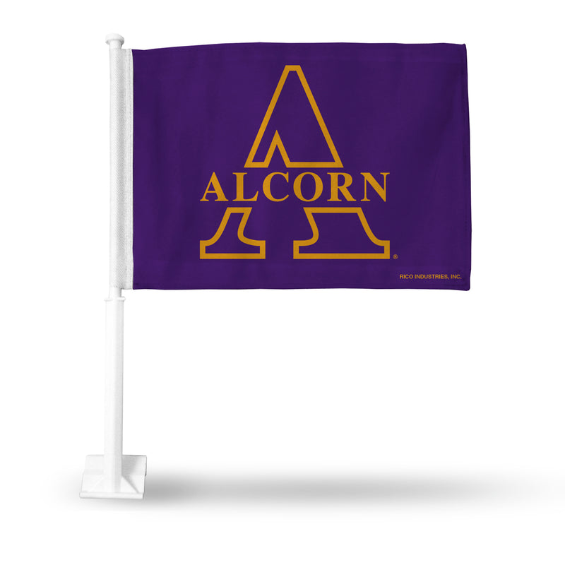 ALCORN STATE CAR FLAG