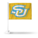 SOUTHERN UNIVERSITY GOLD CAR FLAG