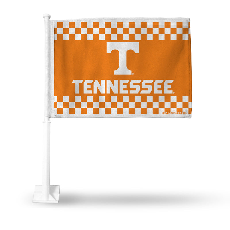 TENNESSEE CHECKERBOARD CAR FLAG