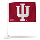 INDIANA UNIVERSITY CAR FLAG