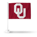 OKLAHOMA UNIVERSITY CAR FLAG