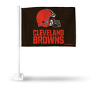 BROWNS HELMET CAR FLAG