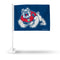 FRESNO STATE CAR FLAG(BLUE BACKGROUND)