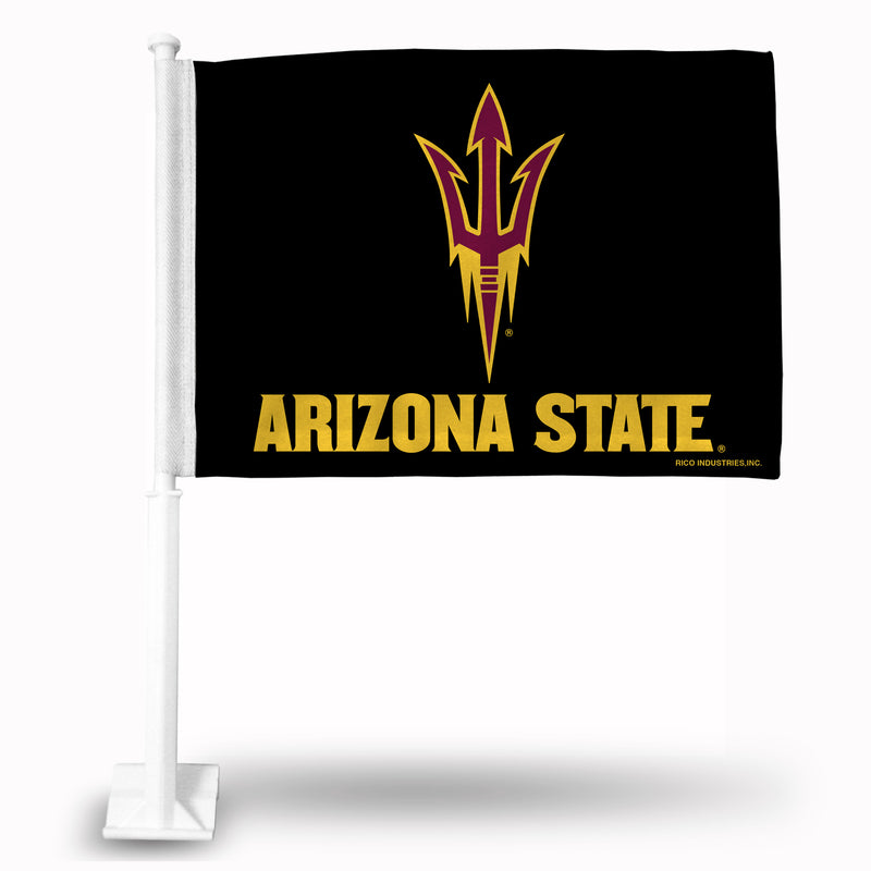 ARIZONA STATE BLACK CAR FLAG