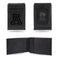 ARIZONA UNIVERSITY LASER ENGRAVED BLACK FRONT POCKET WALLET