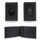 CAPITALS  LASER ENGRAVED BLACK FRONT POCKET WALLET