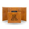 ARIZONA UNIVERSITY LASER ENGRAVED BROWN TRIFOLD WALLET