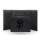 GIANTS - SF LASER ENGRAVED BLACK TRIFOLD WALLET