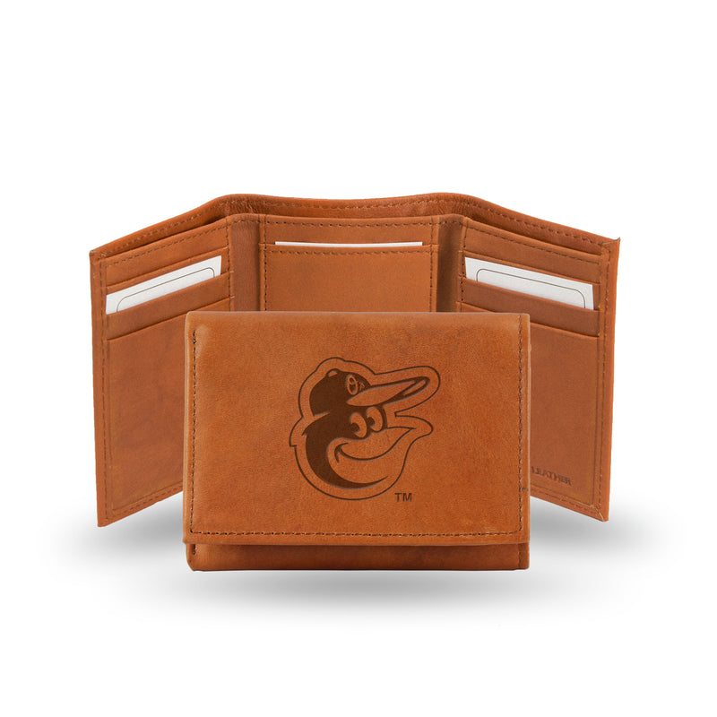 BALTIMORE ORIOLES EMBOSSED TRIFOLD