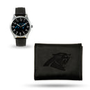 PANTHERS SPARO BLACK WATCH AND WALLET GIFT SET