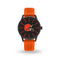 SPARO BROWNS CHEER WATCH WITH ORANGE BAND