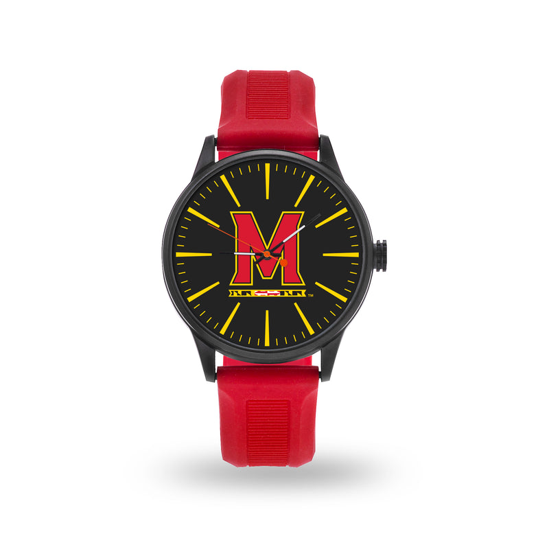 SPARO MARYLAND UNIVERSITY CHEER WATCH WITH RED BAND