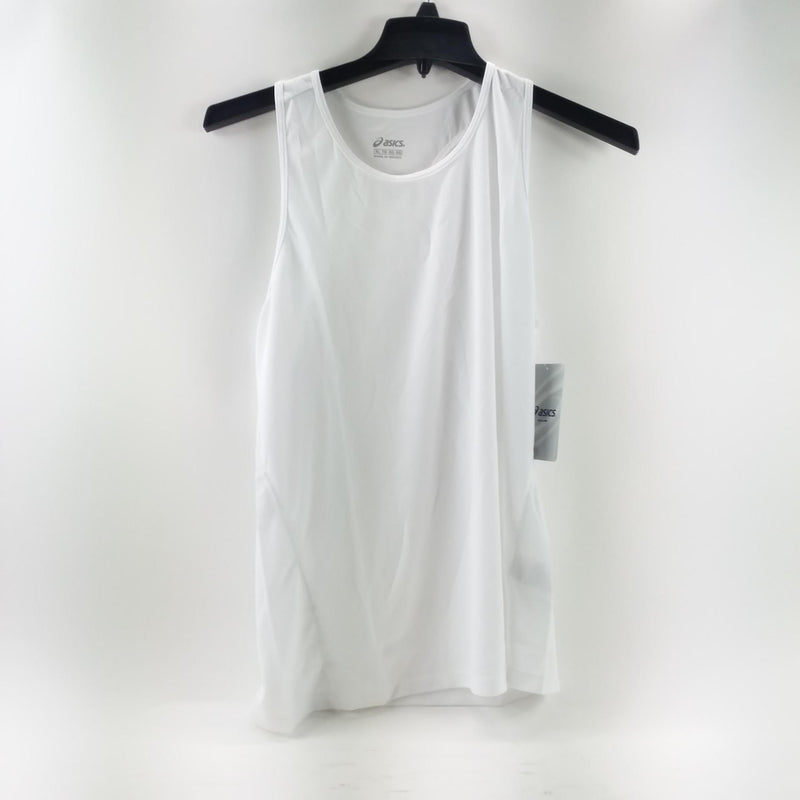 NWT Asics Women's Extra Large XL White Core Singlet Tank Top Shirt Style WR1161
