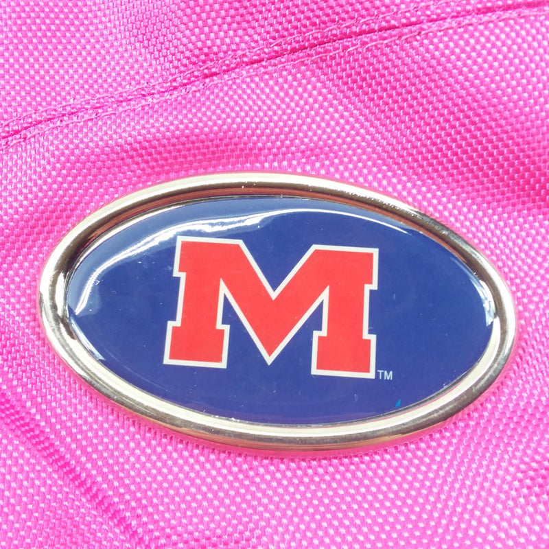 Officially Licensed Most Valuable Fan Ole Miss Rebels Hobo Bag Pink