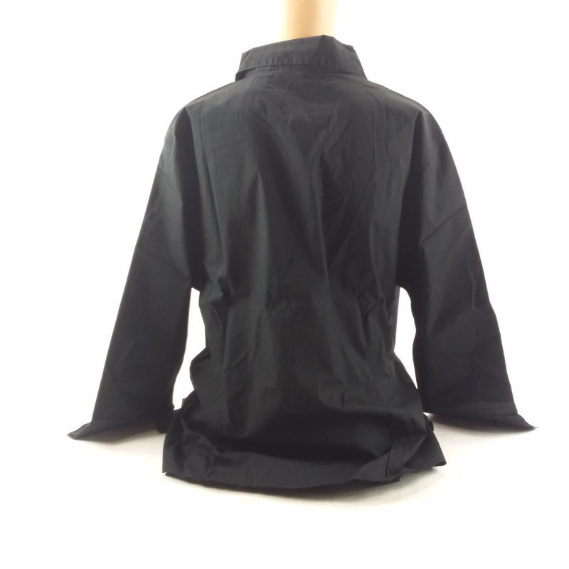 NWT Oxford Women's Davidson College Black Button Down Size Large