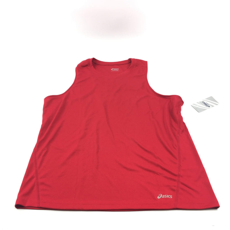 NWT Men's Asics Core Singlet Bright Red (09) Tank Top Size Large S