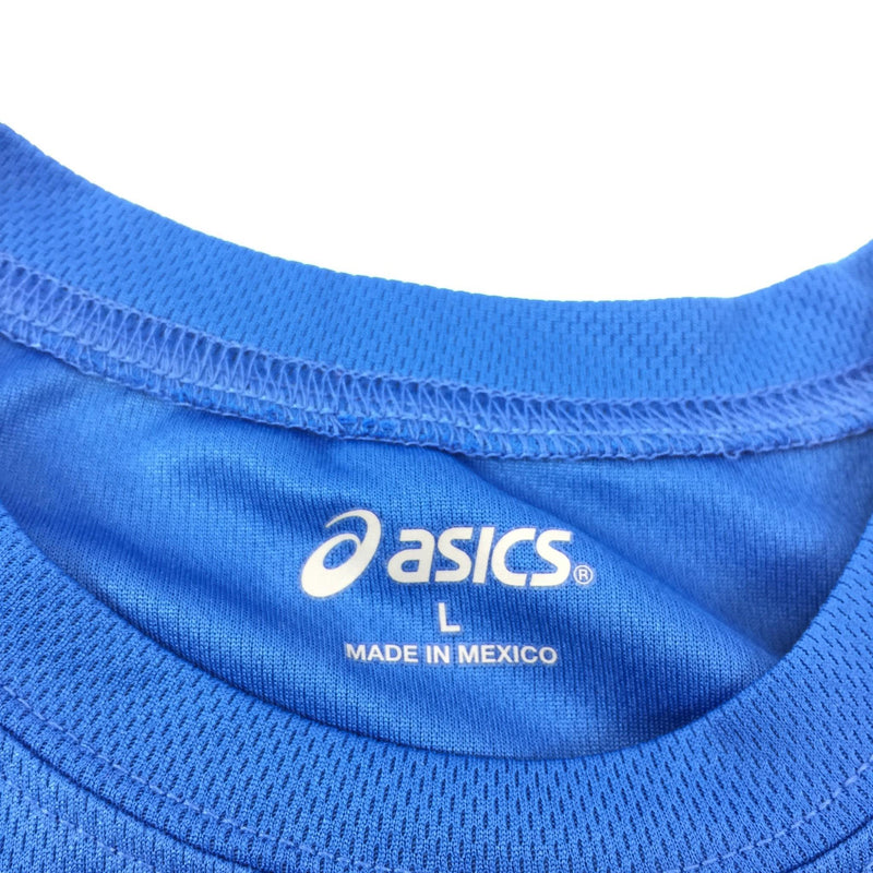 NWT Women's Asics Athletic Blue (68) Core Tank Top Shirt Size L Made In Mexico