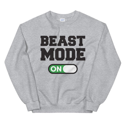 Beast Mode On Sweatshirt