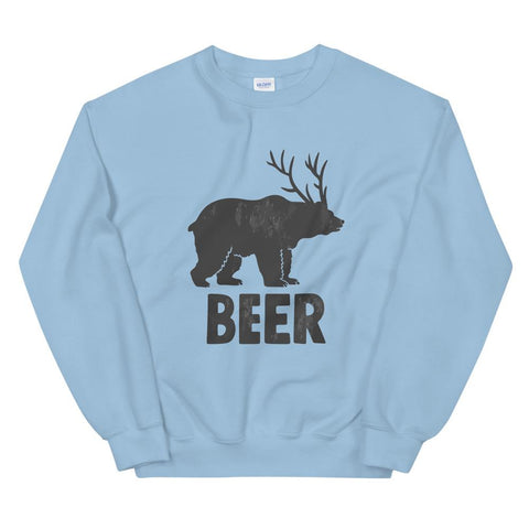 Bear + Deer = Beer Sweatshirt