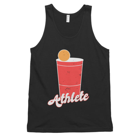 funny drinking tank tops - black Beer Pong Athlete