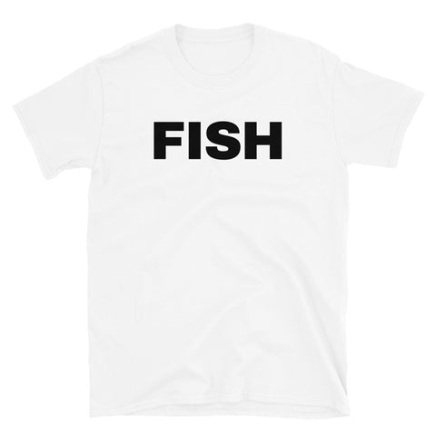 funny fishing t-shirts - white fish