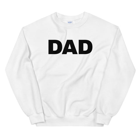 funny dad sweatshirts - white dad