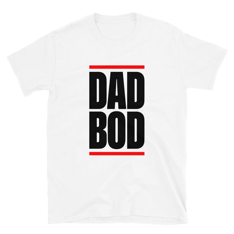 funny dad t-shirts - white Dad Bod V2
