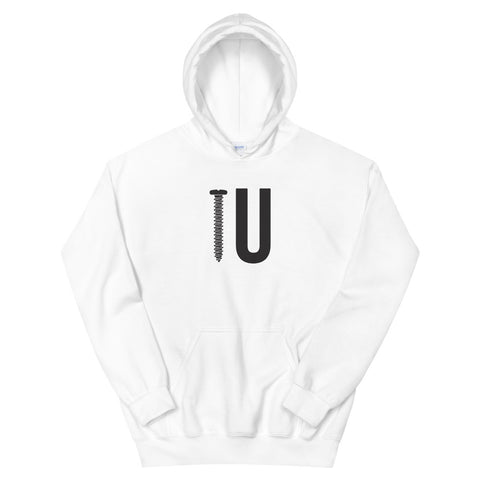 funny offensive hoodies - white screw you