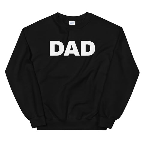 funny dad sweatshirts - black dad