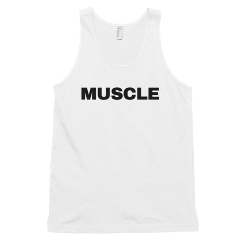 funny workout tank tops - white muscle