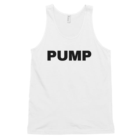 funny workout tank tops - white pump
