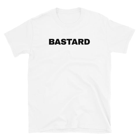 funny offensive t-shirts - white bastard