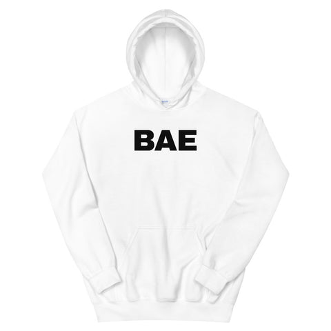 funny dad hoodies - white bae