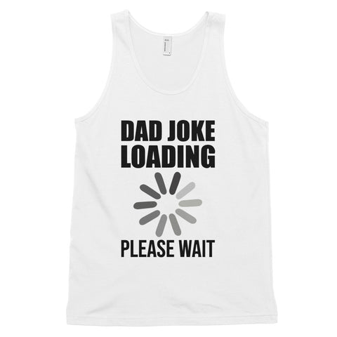 funny dad tank tops - white Dad Bod's Gym, Gold's Gym Parody