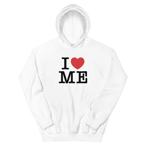 funny mom hoodies - white I Love Me